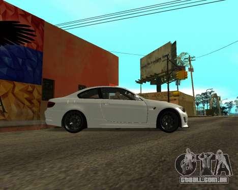 BMW M3 Armenian para GTA San Andreas esquerda vista