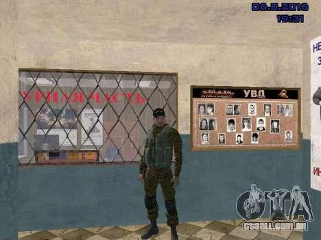 Policial para GTA San Andreas segunda tela