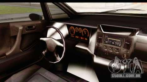 GTA 5 (4) Dinka Perennial IVF para GTA San Andreas vista interior