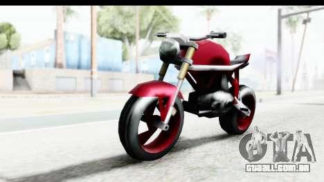 Custom Stunt FCR9000 para GTA San Andreas vista direita