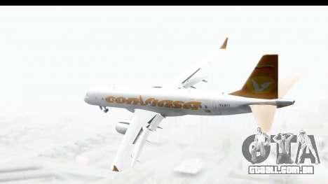 Embraer 190 ConViasa para GTA San Andreas esquerda vista