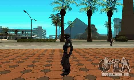 NextGen mudou a pele original SWAT para GTA San Andreas sexta tela