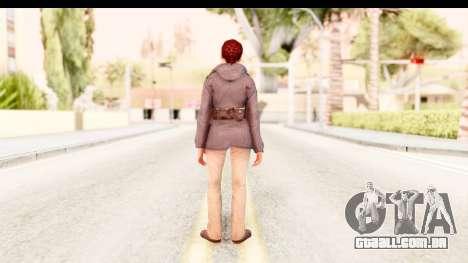Silent Hill Downpour - Annie para GTA San Andreas terceira tela