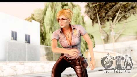 Silent Hill Shattered Memories - Cybil para GTA San Andreas