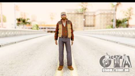 Silent Hill Homecoming - Travis para GTA San Andreas segunda tela