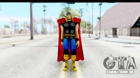 Marvel Heroes - Thor para GTA San Andreas segunda tela
