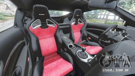 GTA 5 Nissan 370Z Nismo Z34 2016 [replace] volante