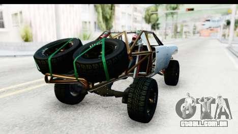 GTA 5 Trophy Truck SA Lights PJ para GTA San Andreas esquerda vista