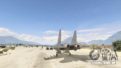 GTA 5 Su-30МКК HQ Chinês terceiro screenshot