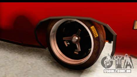 Ford Torino para GTA San Andreas vista traseira