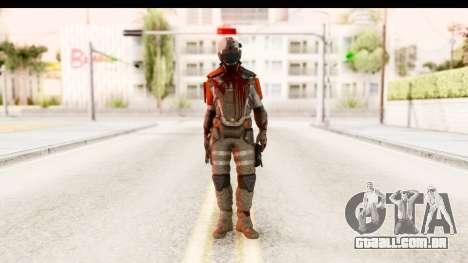 Homefront The Revolution - KPA v2 Dead para GTA San Andreas segunda tela