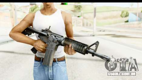 AR-15 para GTA San Andreas terceira tela