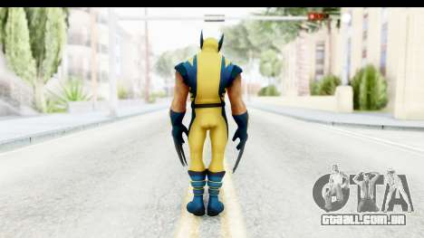 Marvel Heroes - Wolverine Modern para GTA San Andreas terceira tela
