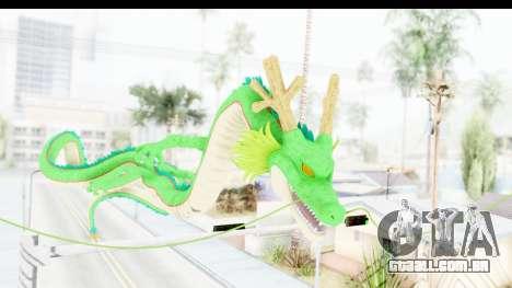 Shenron from Dragon Ball Xenoverse para GTA San Andreas segunda tela