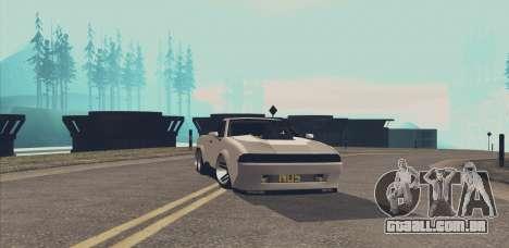 Elegy Ibragim para GTA San Andreas vista traseira
