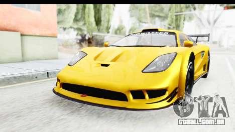 GTA 5 Progen Tyrus IVF para GTA San Andreas traseira esquerda vista