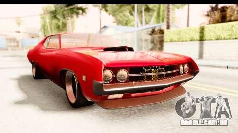 Ford Torino para GTA San Andreas vista direita