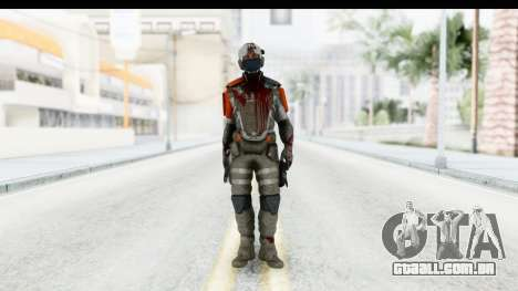Homefront The Revolution - KPA v4 Dead para GTA San Andreas segunda tela