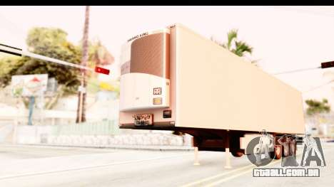 Trailer ETS2 v2 New Skin 2 para GTA San Andreas
