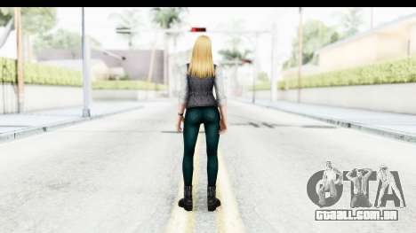 Marvel Future Fight - Sharon Carter (Civil War) para GTA San Andreas terceira tela