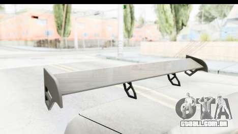 Elegy Sport Type v1 para GTA San Andreas vista interior