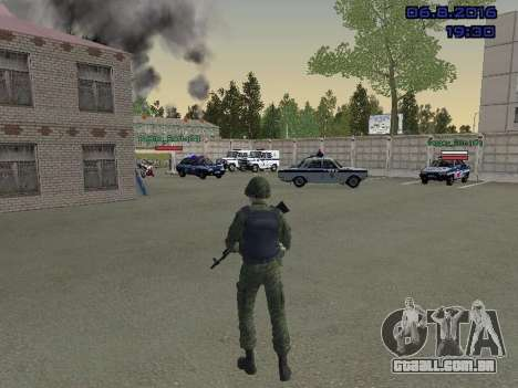 O driver da MIA para GTA San Andreas terceira tela