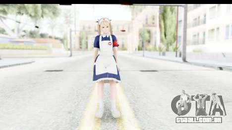DoA 5: LR - Marie Rose Nurse v1 para GTA San Andreas segunda tela