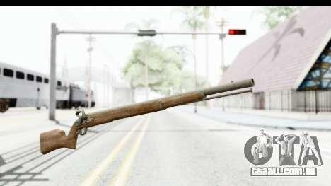 GTA 5 Musket para GTA San Andreas