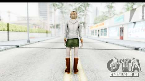 Silent Hill Downpour - Heather para GTA San Andreas terceira tela