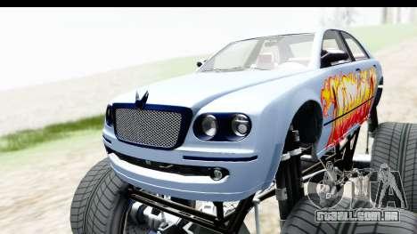 GTA 5 Enus Cognoscenti XL para GTA San Andreas vista interior
