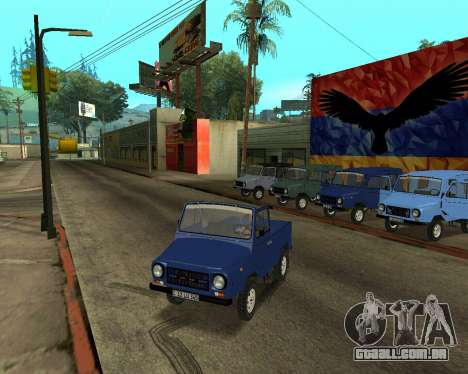 Luaz 969 Armenian para o motor de GTA San Andreas
