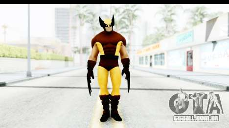 Marvel Heroes - Wolverine Brown para GTA San Andreas segunda tela