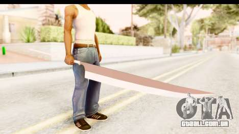 Bleach - Ichigo Weapon para GTA San Andreas