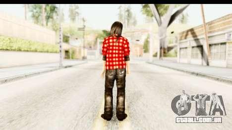 Twilight - Bella para GTA San Andreas terceira tela