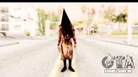 Silent Hill Downpour - Pyramid Head para GTA San Andreas segunda tela