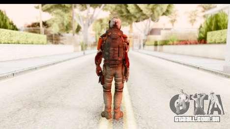 Homefront The Revolution - KPA v2 Dead para GTA San Andreas terceira tela