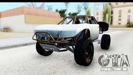 GTA 5 Trophy Truck SA Lights PJ para GTA San Andreas vista direita