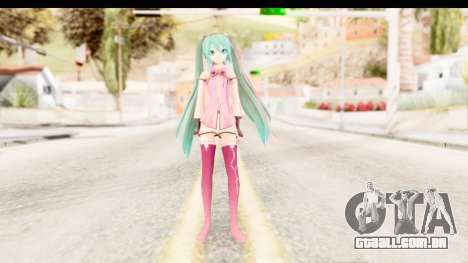 Project Diva F - Hatsune Miku Vocal Star Remade para GTA San Andreas segunda tela