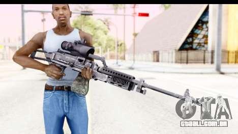 M240 FSK No Bipod para GTA San Andreas terceira tela
