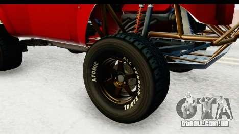 GTA 5 Trophy Truck SA Lights para GTA San Andreas vista traseira