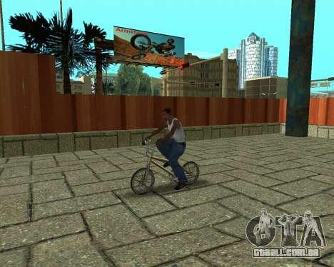 New HD Glen Park para GTA San Andreas por diante tela