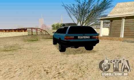 Volkswagen B3 para GTA San Andreas esquerda vista