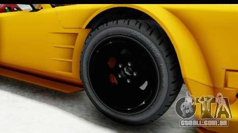 GTA 5 Declasse Drift Tampa para GTA San Andreas vista traseira