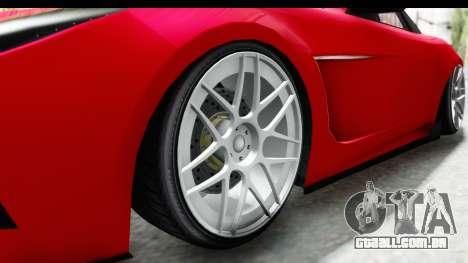 GTA 5 Ocelot Lynx SA Lights para GTA San Andreas vista traseira