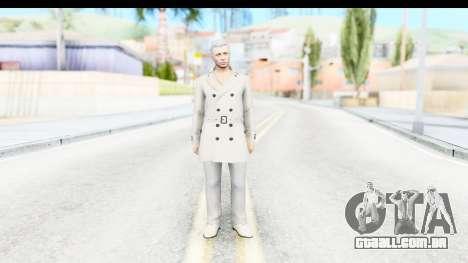 GTA 5 Ill Gotten-Gains DLC Male Skin para GTA San Andreas segunda tela