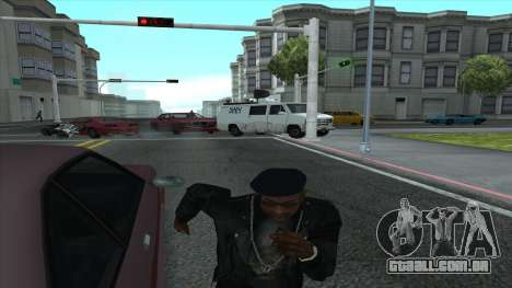 Newsvan Follow You para GTA San Andreas terceira tela