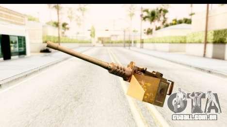 M2 Browning para GTA San Andreas