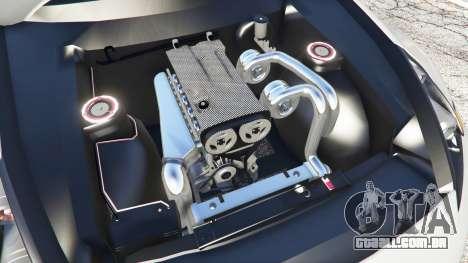 GTA 5 Nissan 370Z Nismo Z34 2016 [replace] vista lateral direita