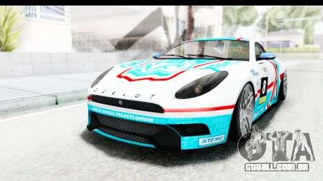 GTA 5 Ocelot Lynx SA Lights para vista lateral GTA San Andreas