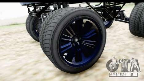 GTA 5 Enus Cognoscenti XL para GTA San Andreas vista traseira